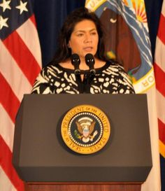 Kimberly Teehee is the current senior policy adviser for Native American affairs in the administration of U.S. President Barack Obama. Her appointment was announced on June 15, 2009.