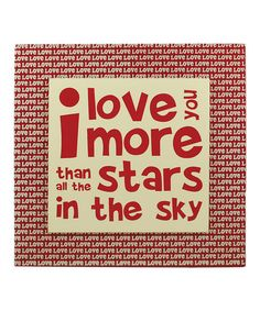 Loving this 'Love You More' Wall Box Sign on #zulily! #zulilyfinds