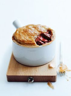 beef, tomato and mushroom pot pies