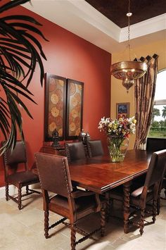 Dining Room Colour Schemes, Dining Room Colors, Bedroom Wall Colors, Room Wall Decor, Dining Room Design, Color Schemes, Living Room Paint, Home Living Room, Living Room Decor