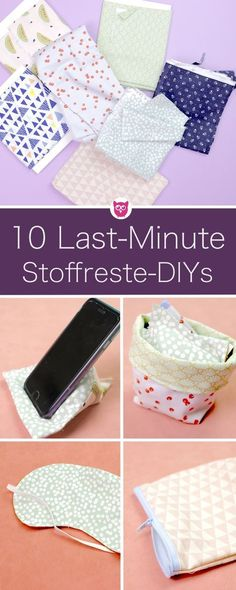 10 last minute gift ideas from fabric scraps. The perfect gifts DIYs around St . 10 last minute gift ideas from fabric scraps. The perfect DIY gifts to recycle fabric scraps. Simple and quick sewing in. Sewing Machine Cake, Machine Embroidery Projects, Diy Gifts For Friends, Best Friend Gifts, Diy Accessoires, Recycled Fabric, Last Minute Gifts, Sewing Patterns Free, Knitting Patterns