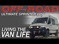 Mercedes Sprinter Camper, Sprinter Van, Day Van, Van Living, Rv Campers, Ford Transit, Van Life, Offroad, Box