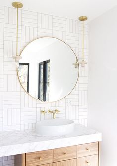 subway tile bathroom