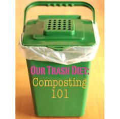 Now that our trash diet is well underway, I wanted to share with you what I've learned about composting. This is the part of the program I was most excited about because I figured it would be an easy way to immediately start reducing our waste. But before I get ahead of myself, let me …