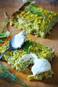 Zucchini and cheese casserole recipe, super easy to make and delicious!