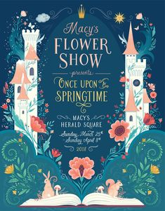 Interview: How an Illustrator Turned Her Passion for Flowers and Art Into a Blossoming Career Digital Illustration Art by Lisa Perrin Book Cover Art, Book Cover Design, Book Art, Book Covers, Greeting Card Companies, Illustrator, Kunst Poster, Poster Design, Flower Show