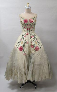 Dress Charles James, 1950s