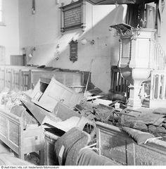 Ravage in kerk Stavenisse.