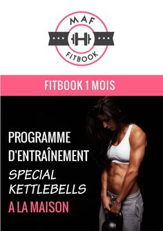 FITBOOK spécial Kettlebells | Musculation au féminin