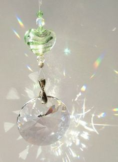 Sun Catcher  For the Love of Prisms with Radiant Sun Swarovski crystals by DancingRainbows for $21.00