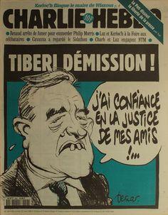Charlie Hebdo - # 208 - 12 Juin 1996 - Couverture : Bernar