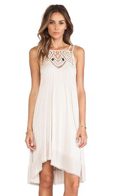 Free People Star Lace Dress in Sand   REVOLVE