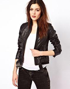 Enlarge Barneys Originals Leather Jacket  rub 5076
