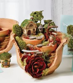Fairy Garden Broken Pot - Project MaterialsFairy Garden Broken Pot - Project…