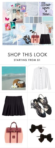 """""""SNSD Taeyeon"""" by banana-lee ❤ liked on Polyvore featuring Seed Design, Disney, Banana Republic, H&M, Sophia Webster, Henri Bendel, Dorothy Perkins, Samsung and Once Upon a Time"""