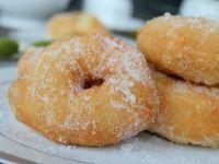 Moroccan sfenj donut