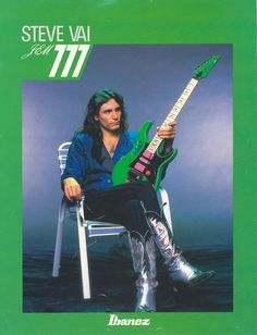 Love this old school pic of Steve and one of his early Jems. These guitars are simply amazing, just like Steve. Music Love, Music Is Life, Electric Guitar For Sale, Electric Guitars, Steve Vai, Best Guitarist, Guitars For Sale, Music Magazines, Ozzy Osbourne