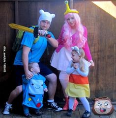 Adventure Time Family Cosplay