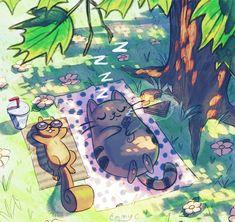 OctiGato de picnic!!!