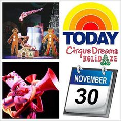 Hey #Dubuque! Looking for something awesome to do on December 8th? Cirque Dreams Holidaze is coming to the #FiveFlagsCenter AND will be on the @todayshow TOMORROW 11/30! Tickets are still available. #Iowa #CedarRapids #Madison #IowaCity #WestBranch #Galena #Platteville #PrairieDuChien #Guttenberg #davenport #Bettendorf #Dyersville #Peosta #IA #FreeportIllinois