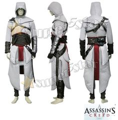 Assassin's Creed - Altair Cosplay Costume - White