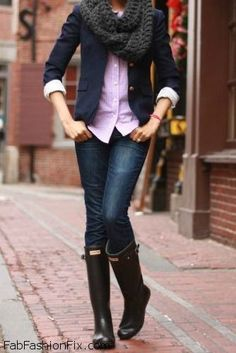 fd74d3494dc58c Style Guide  How to style and wear Hunter boots
