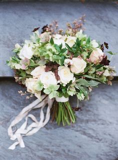 romantic textural bouquet #bridalbouquet