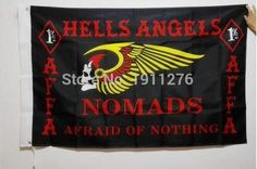The new MC Hells Angels Motorcycle Club banner 90 * 150cm free shipping decorative activities - Animetee - 1