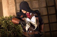 Arno Dorian - AC Unity by Elanor-Elwyn on DeviantArt Assassins Creed Cosplay, Assassins Creed Series, Assassins Creed Unity, Cosplay Costumes, Halloween Costumes, Arno Dorian, Best Cosplay, Handsome, Sneakers Nike