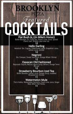 Specialty drinks will keep you coming back for more!