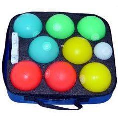 Playaboule Glo Balls (LED) Lighted Bocce Ball Set Patented V3 Plugs-85 Glo_balls-83-V3