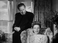 The Ghost and Mrs. Muir - The Movie. Rex Harrison as Captain Daniel Gregg (the Ghost) and Gene Tierney as Lucy Muir.