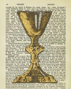 Catholic Dictionary Print: Chalice
