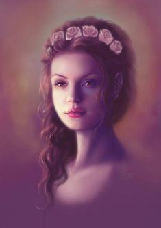 Bildergebnis für game of thrones blonde tyrell digital art