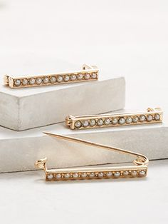 Victorian Antique Scatter Pin Set