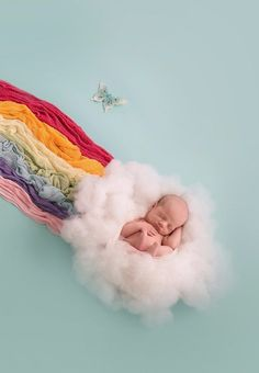 An Unexpected Twist Makes This Rainbow Baby Photo Different From All Others
