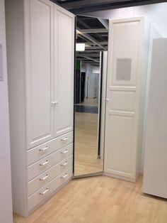 Corner Wardrobe Closet, Ikea Closet, Wardrobe Design Bedroom, Wardrobe Storage, Built In Wardrobe, Closet Bedroom, Room Decor Bedroom, Custom Closet Design, Closet Designs