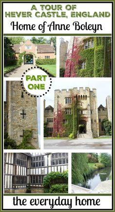 A Tour of Hever Castle: Anne Boleyn's Home; England | The Everyday Home | www.everydayhomeblog.com