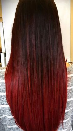 51 ideas hair goals color red highlights for 2019 Red Hair black hair with red highlights Black Hair With Red Highlights, Black Hair Ombre, Blonde Ombre, Hair Highlights, Black To Red Hair, Brown To Red Ombre, Blonde Hair, Color Highlights, Blonde Brunette