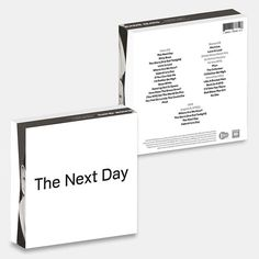 "David Bowie's 3-disc ""The Next Day"" Extra due for November release"