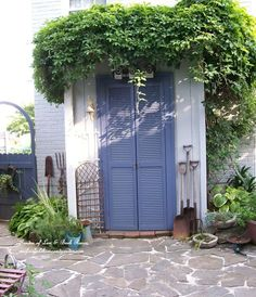 convert a tool shed into a potting shed, doors, gardening, outdoor living,. Lean-to ...
