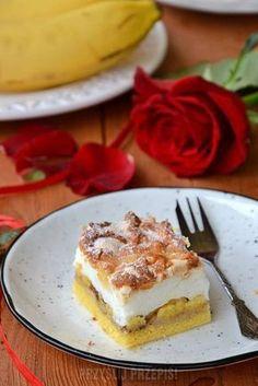 Bananowy pleśniak Tiramisu, French Toast, Cheesecake, Breakfast, Ethnic Recipes, Food, Cooking, Morning Coffee, Cheesecakes