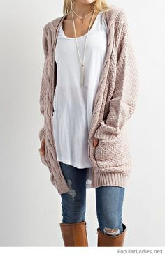 jeans-white-tee-and-a-cozy-nude-cardigan