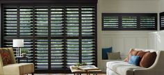 Custom Shutters - Plantation Shutters. Lasting style, privacy. Hunter Douglas Lifetime Guarantee. Free Measure & Insall. Shop at home. We bring the showroom to you!