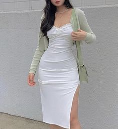 Teen Fashion Outfits, Korean Outfits, Girly Outfits, Cute Casual Outfits, 2000s Fashion, Pretty Outfits, Pretty Dresses, Stylish Outfits, Dress Outfits