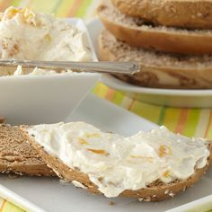 Peach Amaretto Cream Cheese Spread from Stonewall Kitchen