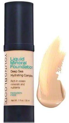 Liquid Mineral Foundation Colour: sand for $49
