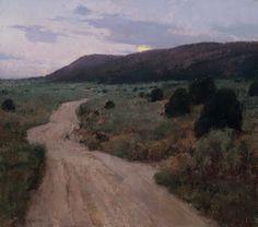 T. Allen Lawson Painting Techniques   Allen Lawson, ETA—Well After Dark, oil, 16 x 18.