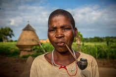 somba or betamaribe portrait of a woman smokes a pipe by Anthony Pappone on 500px