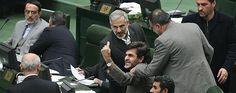 دعوای باندهای رژیم در مجلس ارتجاع